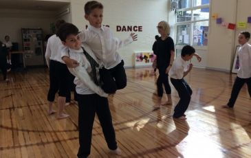 The 'FreeFall' Boys' Dance Company
