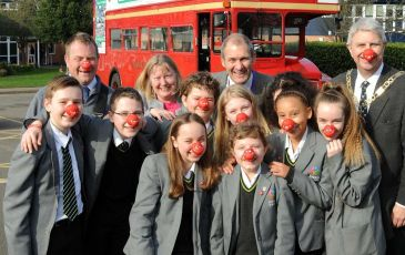 Red Nose Bus
