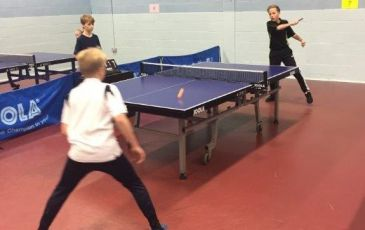 Kent School Games - Table Tennis