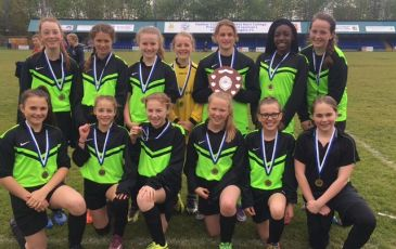 U13 West Kent Girls' Football Champions