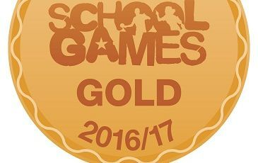 Gold School Games Mark Award for 2016/2017