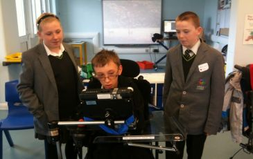 Students take their work experience to a new level at Valence School