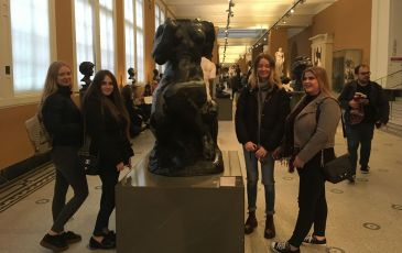 Post 16 Trip to the Victoria & Albert Museum