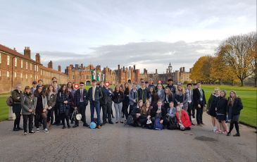 Year 11 - 13 Trip to Hampton Court Palace