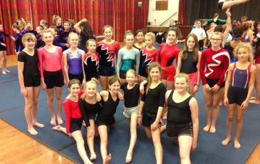 Annual Gymnastics Competition
