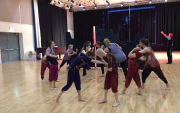Dance Rehearsal with English National Ballet