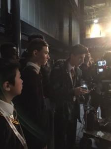 Mark Ruffalo film set visit 8