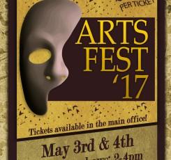 Arts Festival 3/4 May 2017