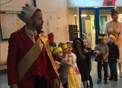 Prince charming visits Little Parndon