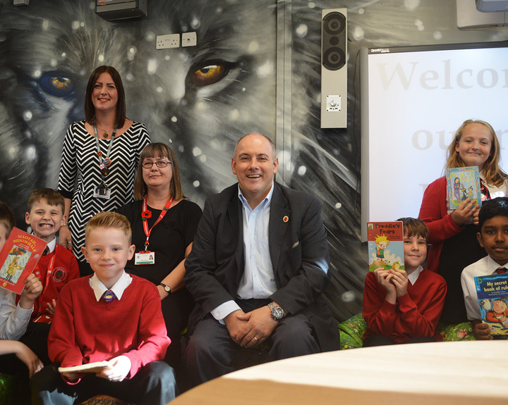 MP visits school's new facilities
