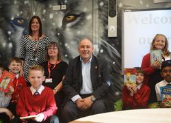 MP visits school's new facilities
