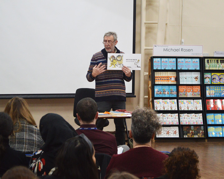 Author Michael Rosen inspires teachers