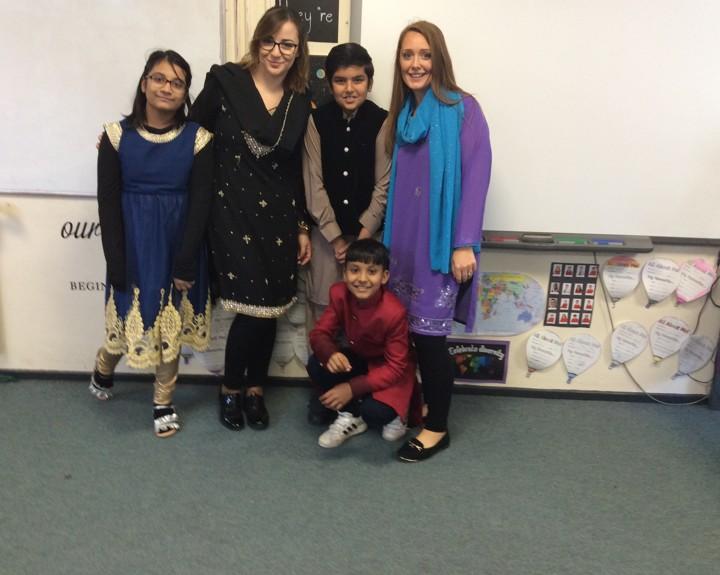 Pupils take virtual trip to India