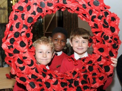 Remembrance at the Harvey Centre