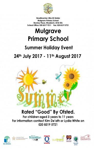 Summer Holiday Childcare