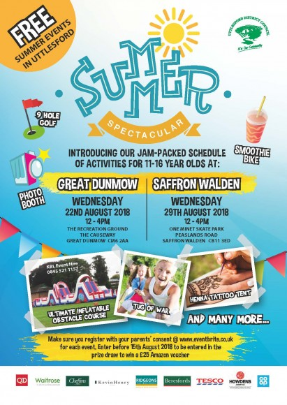 Summer Spectacular 2018 poster
