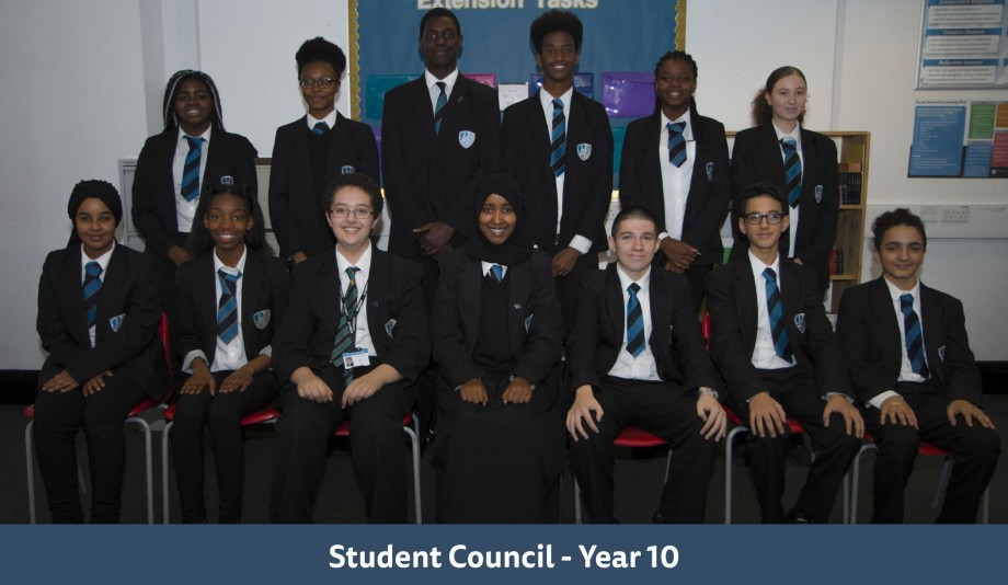 Student Council Year 10
