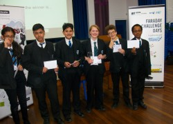 Year 8 students win IET Faraday Challenge!
