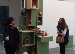 Visit to UEL Fine Art Undergraduate Degree Show