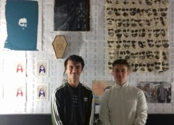 Celebration of ex-student Art, with 'Can't Win Don't Try' at Five Miles