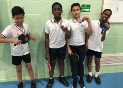 A Table Tennis Success
