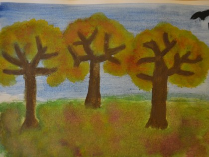 Autumn Paintings from Y6