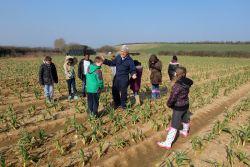 Garlic Farm visit by POW Garlic Farm committee