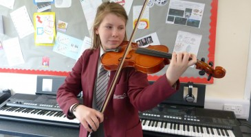 Anna Achieves Professional Standard of Playing