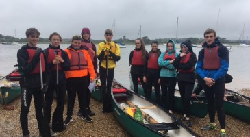 Year 11's Canoeing Expedition