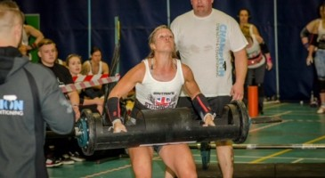 Miss Warner at Britain's Strongest Women Competition