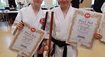Black Belt for Oscar and Ethan