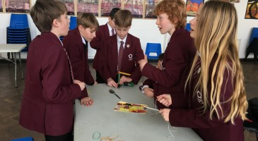 Catapult Challenge for Key Stage 3 Students