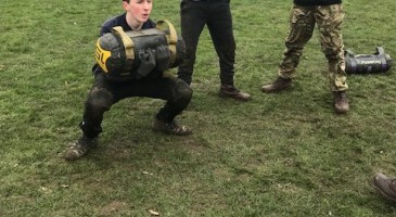 Commando Training for TPS Students
