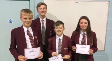More Maths Challenge Success