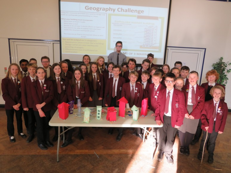 Geog KS3 Group shot