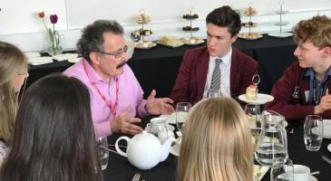 Professor Robert Winston meets TPS students