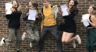Record-breaking GCSE results third year in a row!