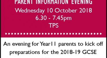 How To Help Your Child Evening - Year 11