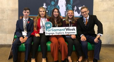 JESS IN UK YOUTH PARLIAMENT DEBATE