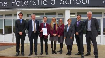Education Secretary visits TPS