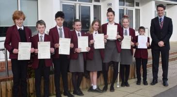 Presentation of Music certificates