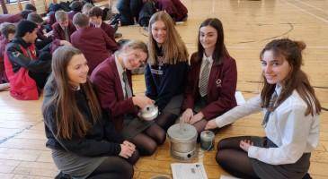 Students practise for Duke of Edinburgh Bronze award
