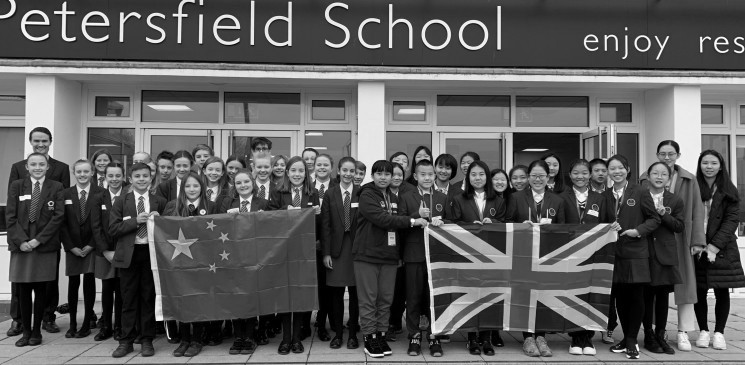 TPS Welcomes Chinese Visitors