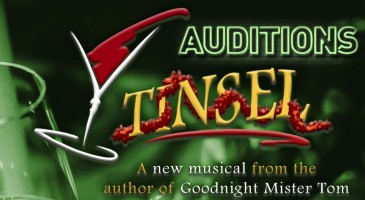 Tinsel Auditions Banner