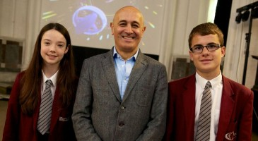 From The Petersfield School to infinity and beyond Renowned physicist takes students on a journey through the cosmos