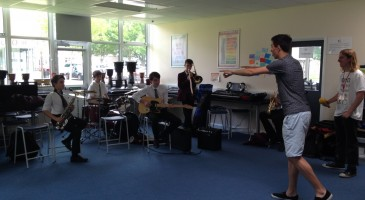 Making Music with Ex-students