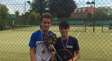 Tennis Triumph for Oliver