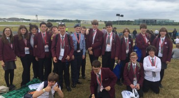 STEM Students Fly High at Farnborough