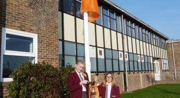 First ERA Awards House Winners Fly Their Flag