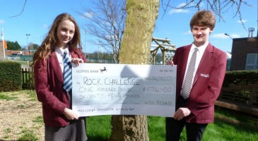 Raising Funds for Rock Challenge